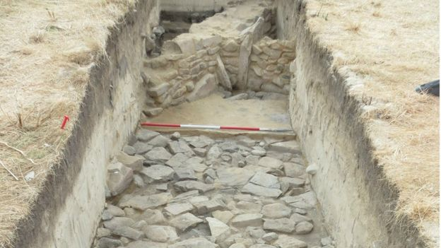 Shifted sands reveal Roman settlement in the Channel Islands