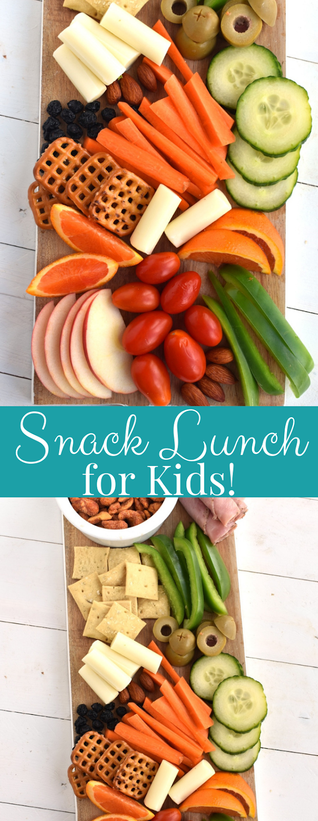 How to put together a snack lunch for kids