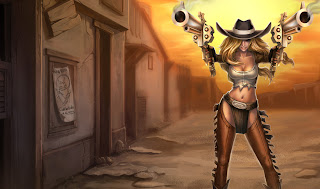Chinese Cowgirl Miss Fortune