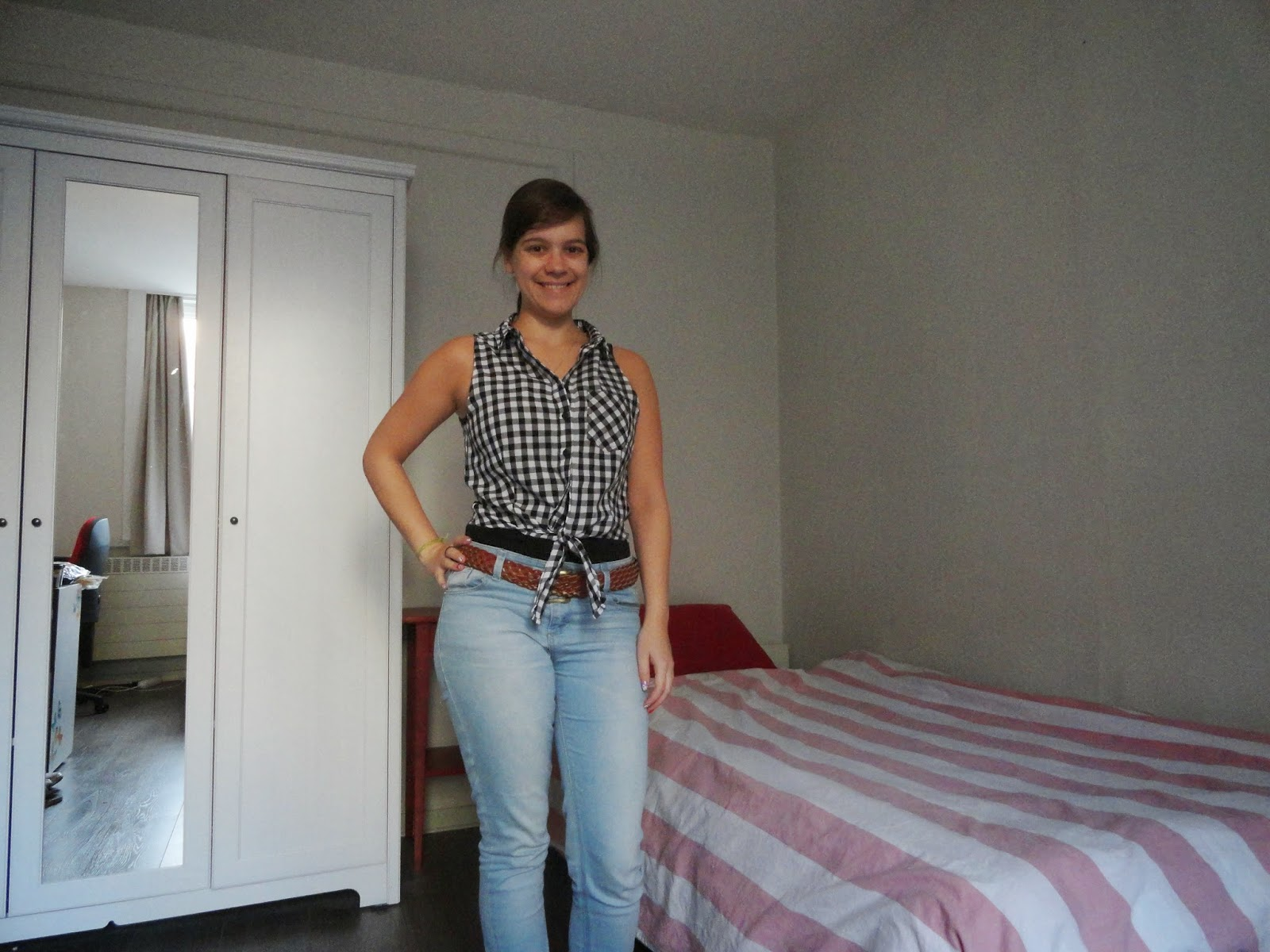 Clothes & Dreams: Shoplog: Bershka, H&M, Pimkie + ASOS: H&M gingham top