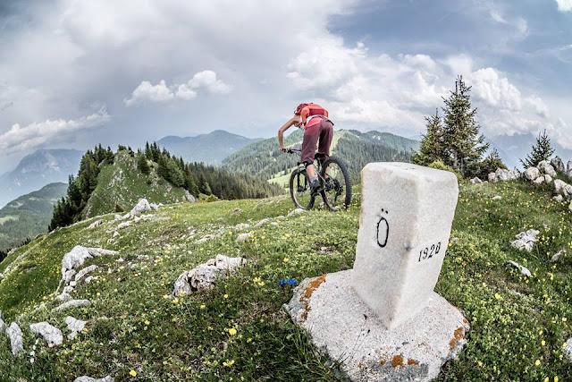 Mountainbike Tour Oisternig Kärnten MTB Singletrail track
