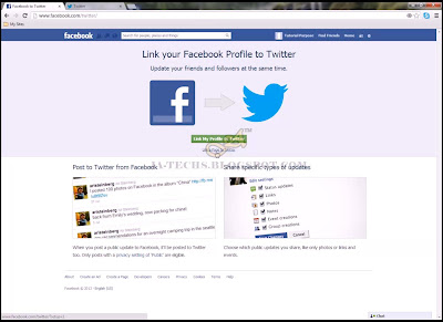 Auto Redirecting Facebook Posts to Twitter - Step 5