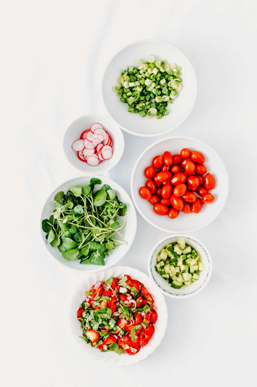 Strawberry Salsa and Avocado Couscous Salad | https://oandrajos.blogspot.com