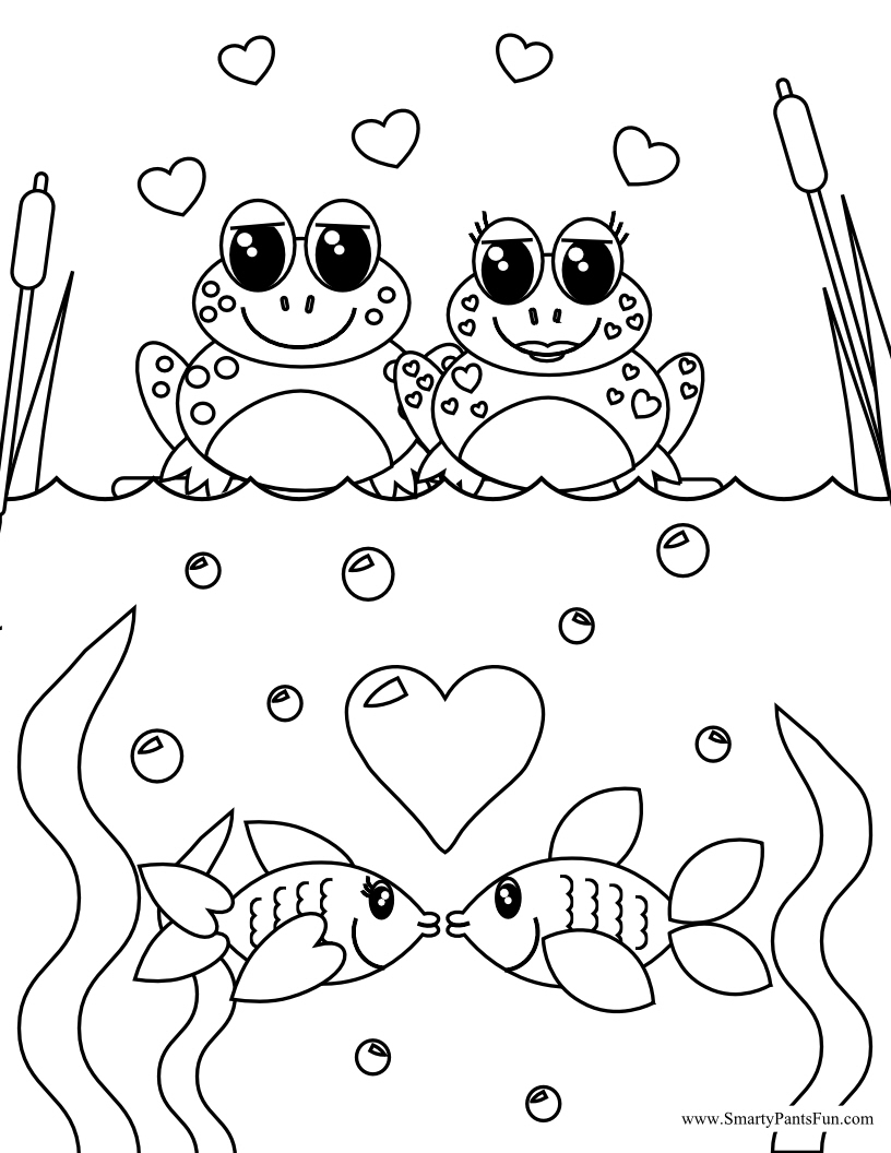 valentine coloring pages for teachers - photo #23