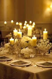 Wedding Table Decoration Ideas Candles