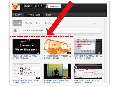 surgeyourprofits.blogspot.com - Videos with CUSTOMISED THUMBNAILS - example 1