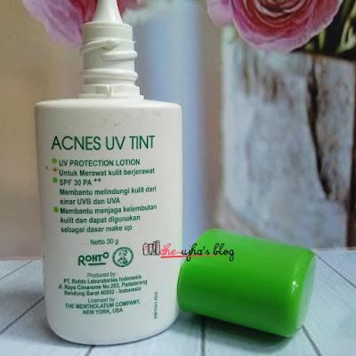 Mentholatum Acnes UV Tint SPF 30 PA++