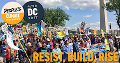 People's climate March - 4/29 in Washington DC