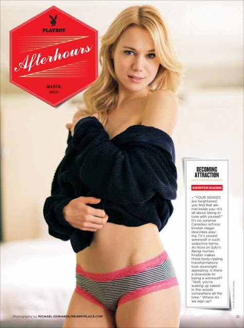 Kristen Hager hot photo shoot