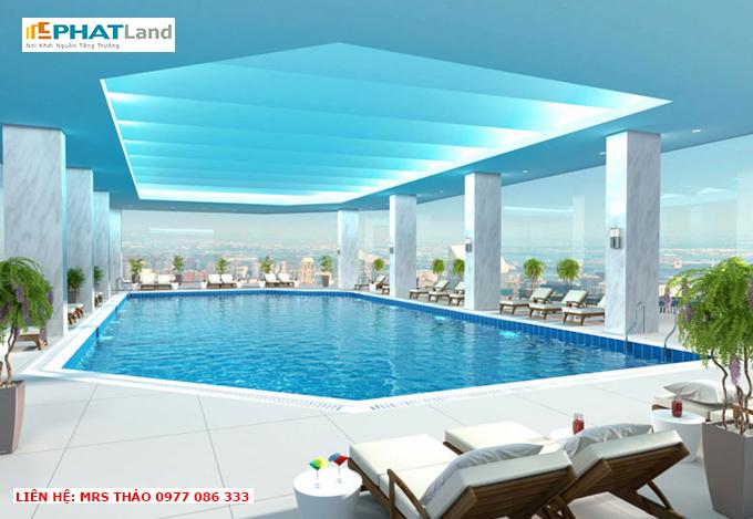 hồ bơi tại dự án The Artemis, bán chung cư artemis