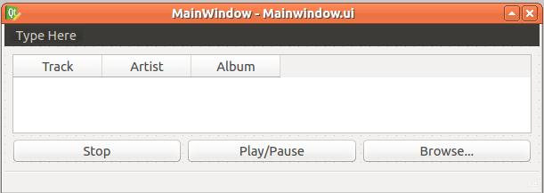 Google Music Player with Qt, Gstreamer, MySQL and Python | Random