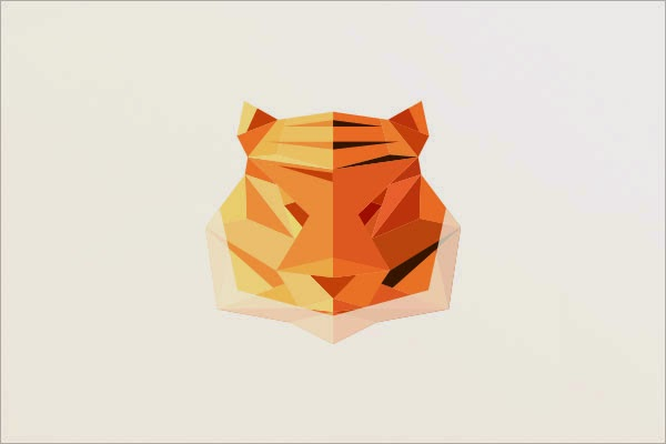 Kumpulan Desain Logo Low Poly - Rawry Low Polygon Logo