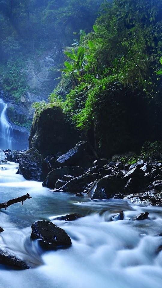Beautiful Taiwan Forest Waterfalls  Galaxy Note HD Wallpaper