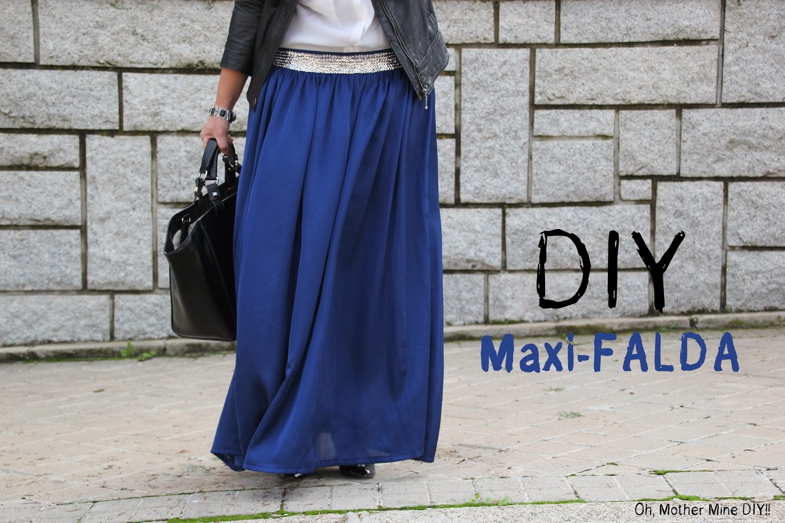 1e303c1ac DIY Costura Maxi Falda - HANDBOX