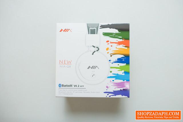 New NIA Q8 Bluetooth Headphones Unboxing