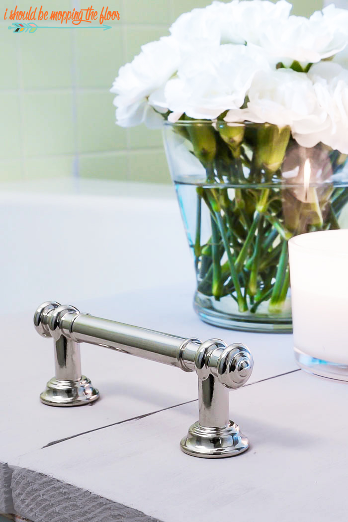 bath tray hardware