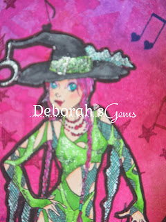 Dance Witch detail 2 - photo by Deborah Frings - Deborah's Gems