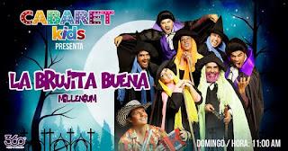 La Brujita Buena (Teatro en familia) 2017