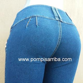 Jeans levanta cola pantalones colombianos de mayoreo barato