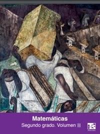 Libro de texto Telesecundaria Matemáticas Volumen 2 Segundo grado 2019-2020