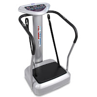 Hurtle HURVBTR85 Vibration Platform Fitness Machine Crazy Fit Massager, with oscillation vibration, 1-99 speed intensity levels
