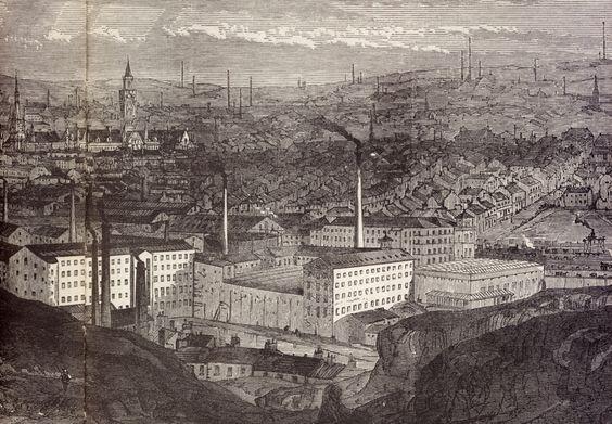 Dark Satanic Mills Bradford West Yorkshire
