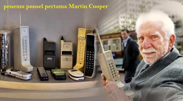 """Inilah Bapak Penemu Ponsel  """" Martin Cooper"""