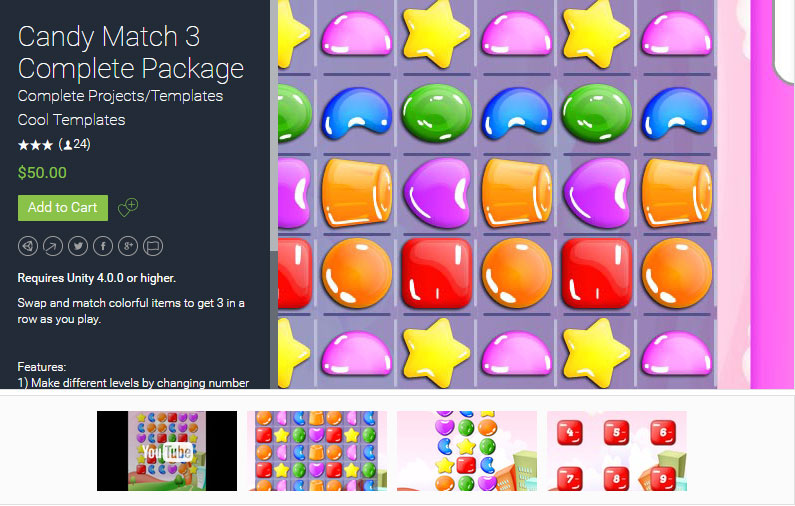 Candy Cute Match 3 Free | All Free Sources