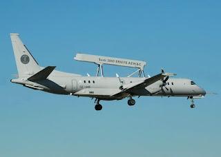 Pesawat Saab 2000Erieye AEW&C