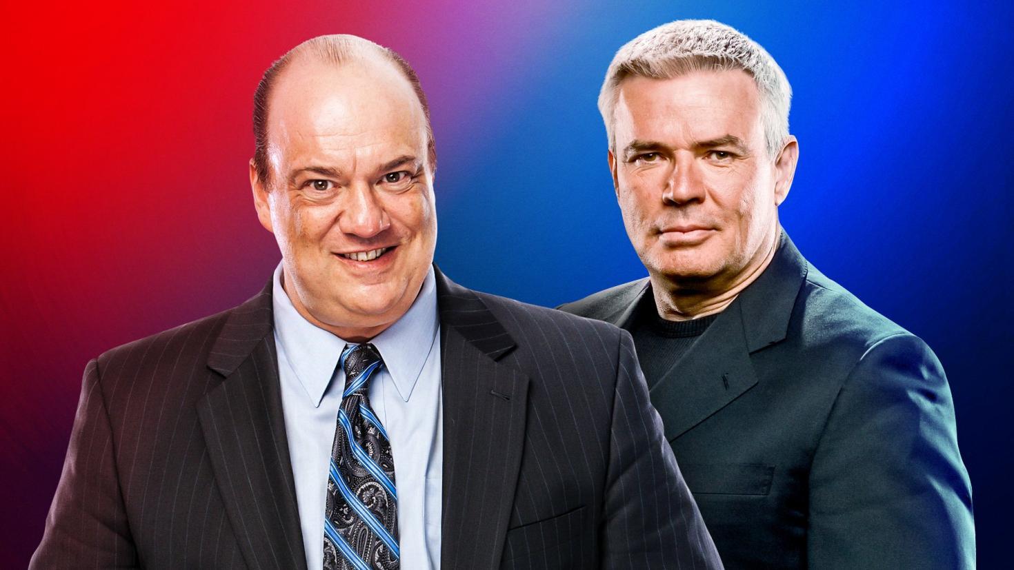 """Paul Heyman e Eric Bischoff fizeram um """"draft verdadeiro"""" envolvendo algumas estrelas"""