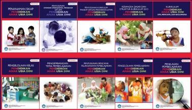 Download 15 Buku Pedoman Kurikulum 2013 PAUD Resmi Direktorat