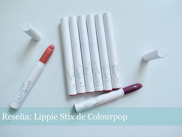 Reseña: Lippie Stix de Colourpop