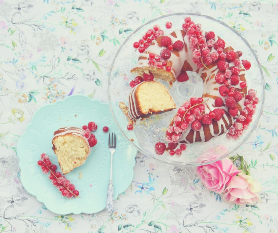 Why It's Okay To Be A Stay-at-home Mum When You're Not a Natural Homemaker | I'm no Nigella so baking something like this succulent looking cake covered in red berries is just not me.