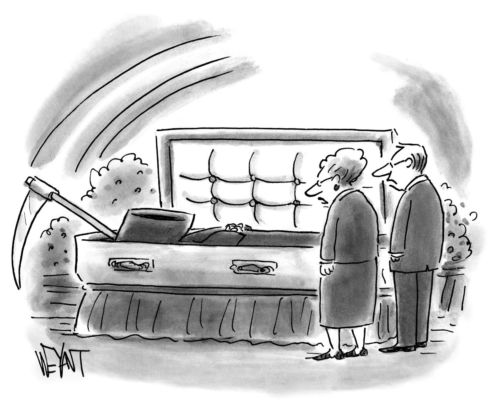 The Hilbert Heckler: New Yorker Cartoon Caption Contest
