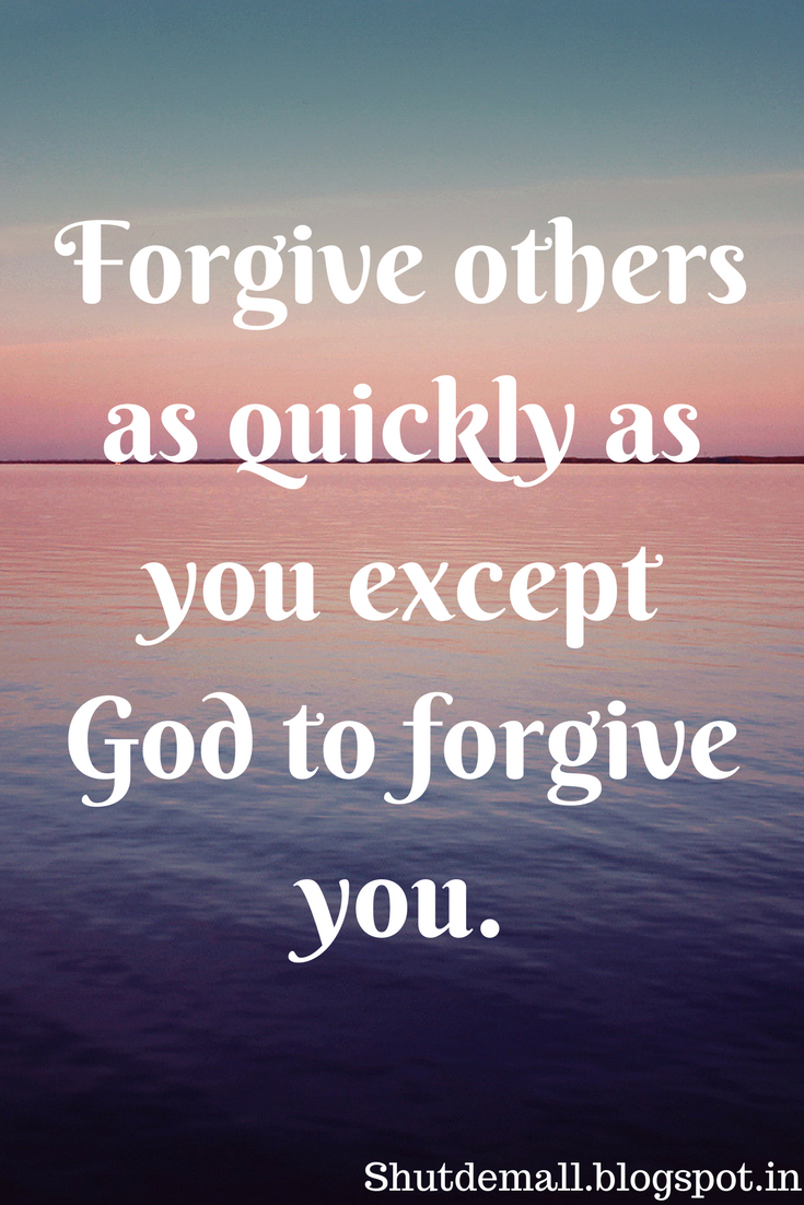 Ordinaire Forgiveness Quotes Sayings