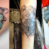 Heart lock tattoos!