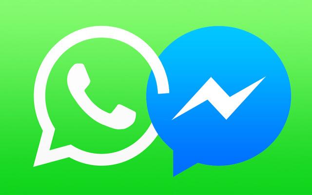 """""""فيسبوك"""" تعتمد تقنية جديدة تتيح دمج """"ماسنجر"""" و""""واتساب"""""""