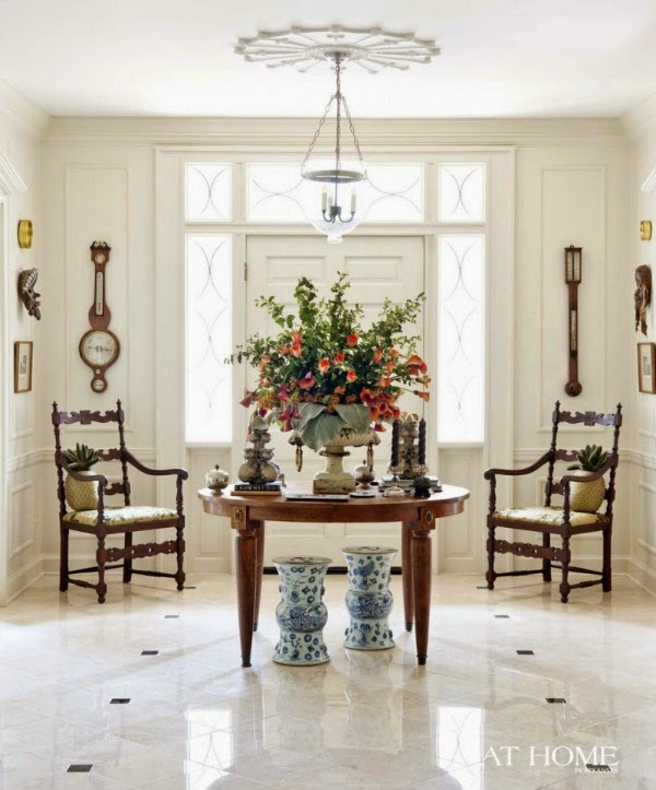 High Ceiling Decorating Ideas: 21 Rosemary Lane: Looking For Some Inspiration For Our Foyer