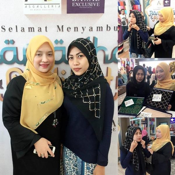 Viral, Inilah Wajah Wanita Pembeli Tudung Harga RM10 Ribu!..
