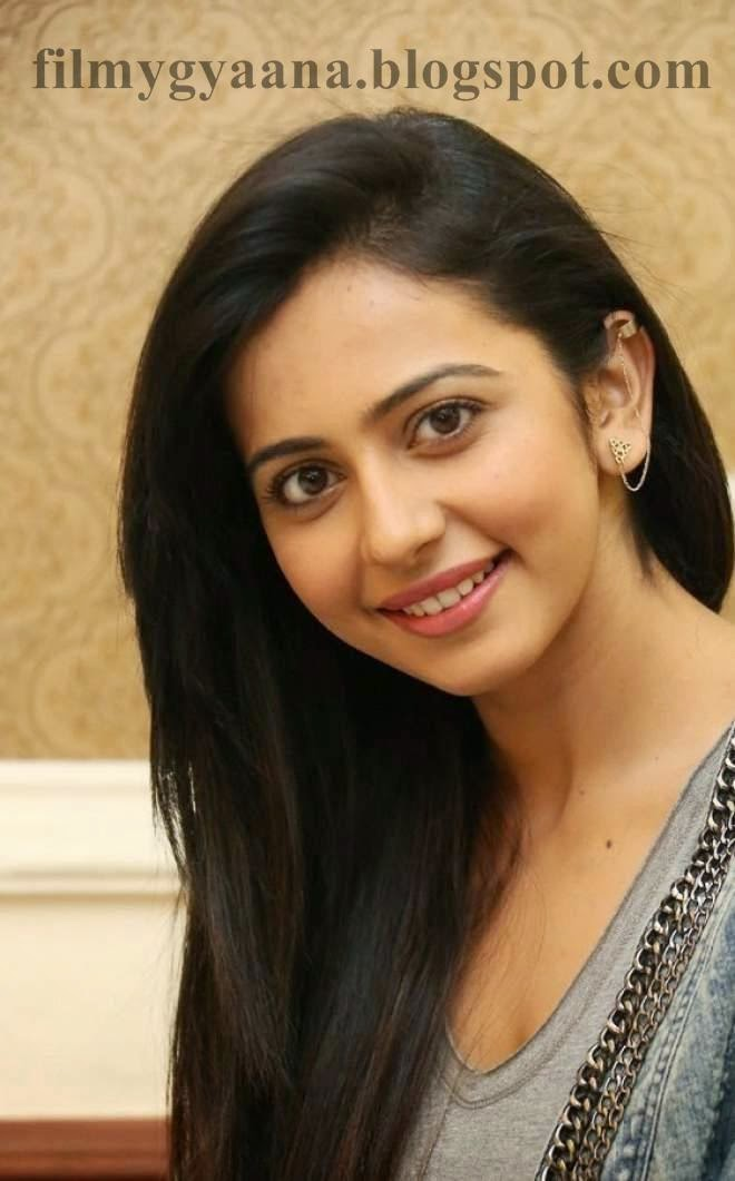 rakul preet singh blue jeans photo