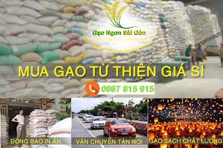 Mua gạo từ thiện ngon rẻ chất lượng tại đây