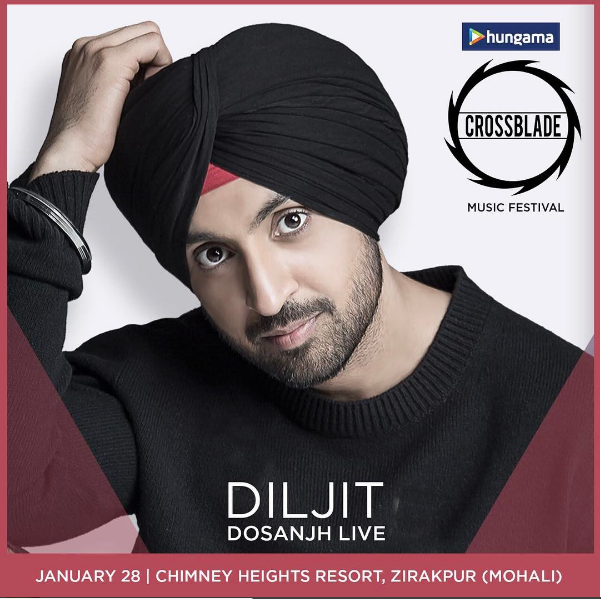 Diljit Dosanjh, Nucleya, Harrdy Sandhu and more gear up to perform at largest Punjabi music festival - Hungama Crossblade 2017