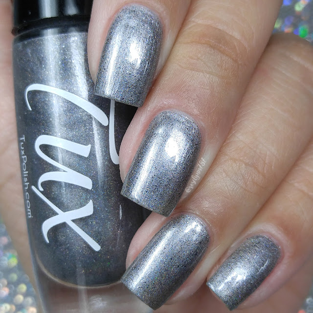 Tux Polish - Silver Sparkler