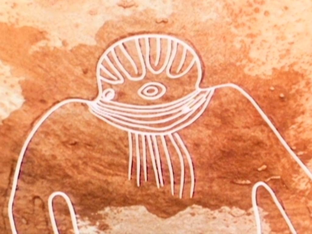 Ancient Astronaut Cave Paintings - Pics about space