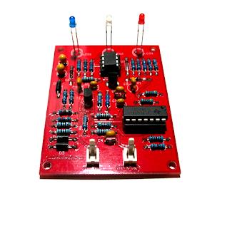 Medidor de ESR 3 Leds (rojo).