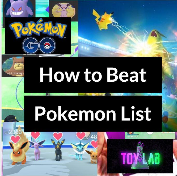 how to beat pokemon