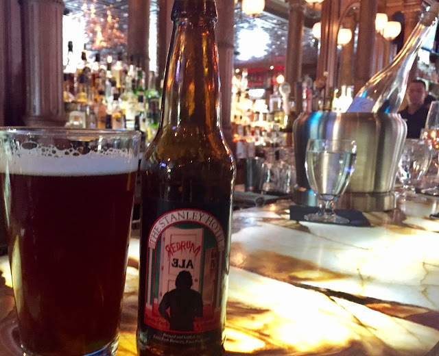 The Stanley Hotel REDRUM beer