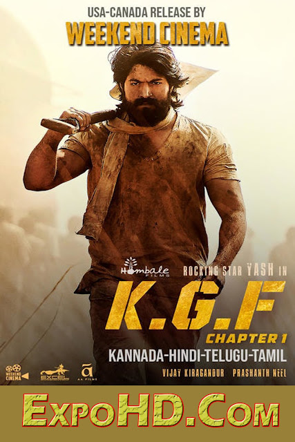 K.G.F / Chapter 1 2018 Movie Download_Hindi DL 1080p 720p ESubs| 2.5Gb| 900Mb| 400Mb|[G-Drive]Download Watch Online