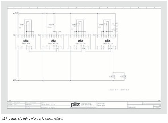 Pilz on Pilz Safety Relay Wiring Diagram