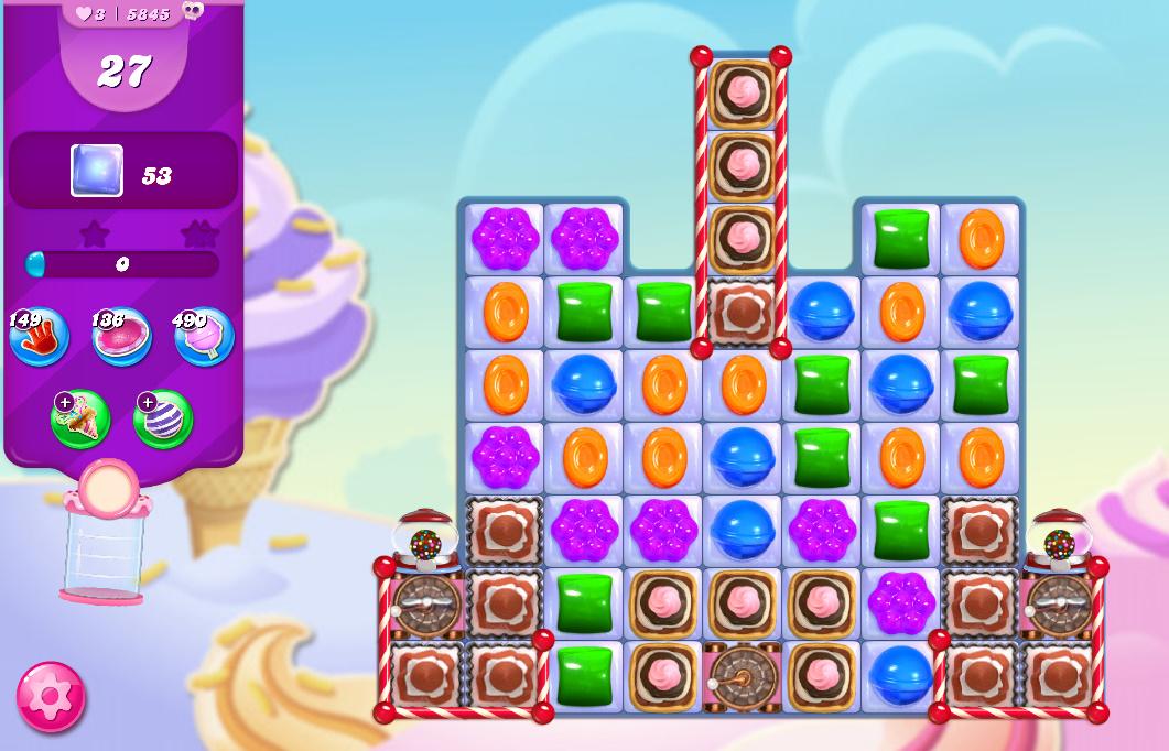 Candy Crush Saga level 5845